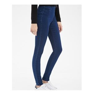 Forever 21 High Rise Side Zipper Jeggings